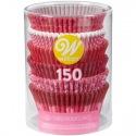 Baking cups Be mine 150pk Wilton