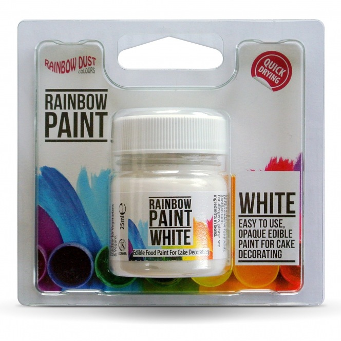 Rainbow Paint White