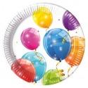 8 paper plates - Balloon