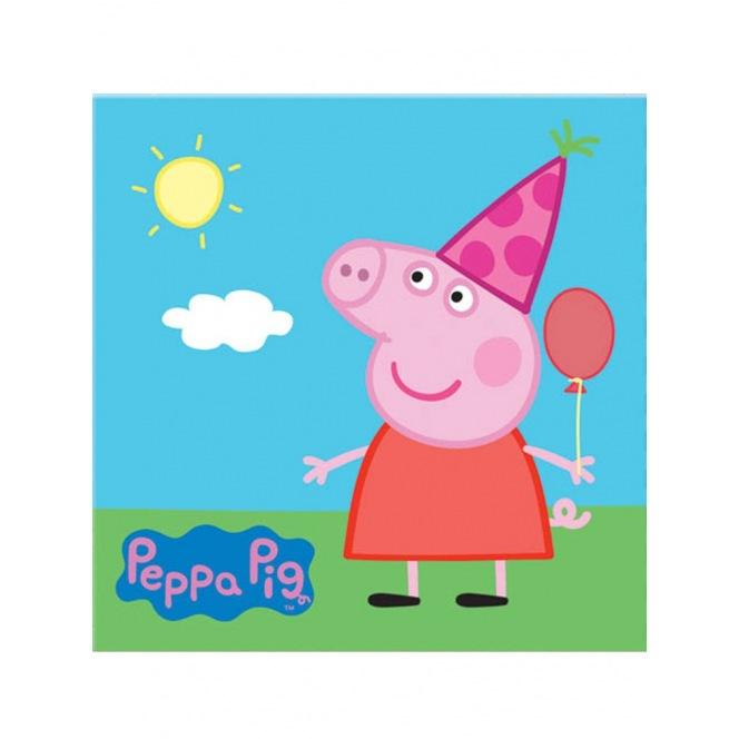 20 Napkins - Peppa Pig