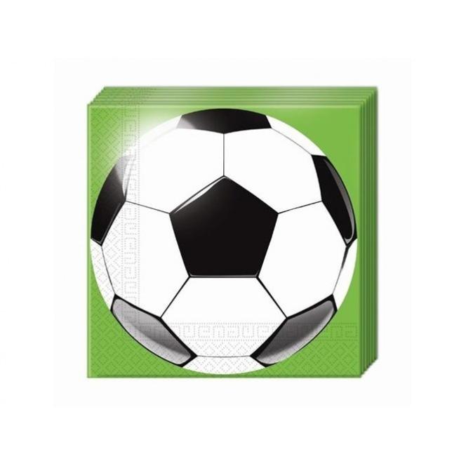 20 Napkins - Soccer