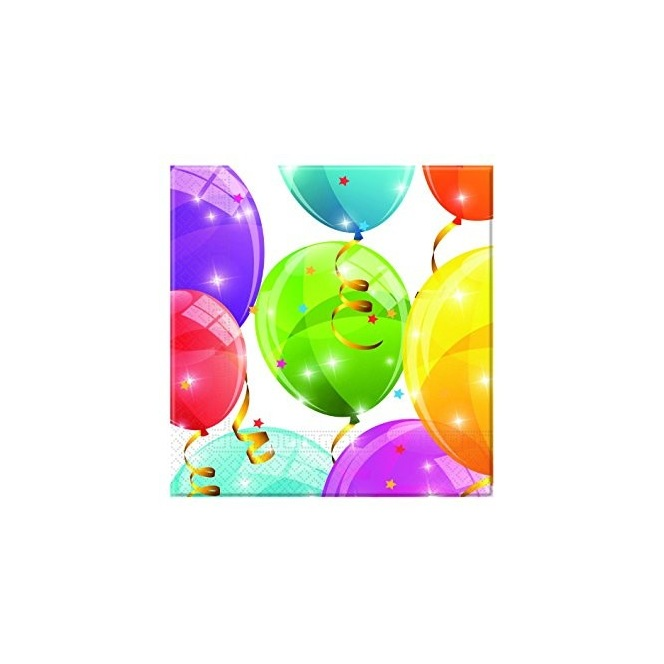 20 Napkins - Balloon