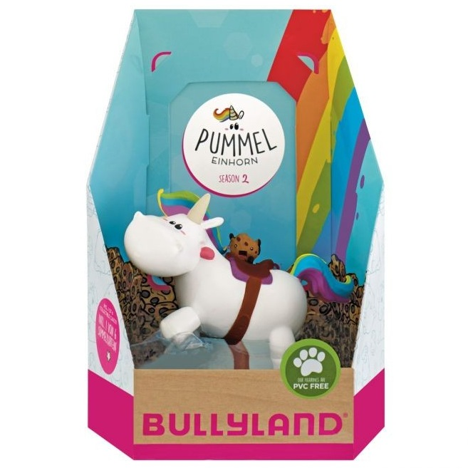 Decorative Figure Chubby Unicorn - Ridding
