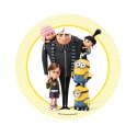 Wafer disc Minion Despicable Me - family 1
