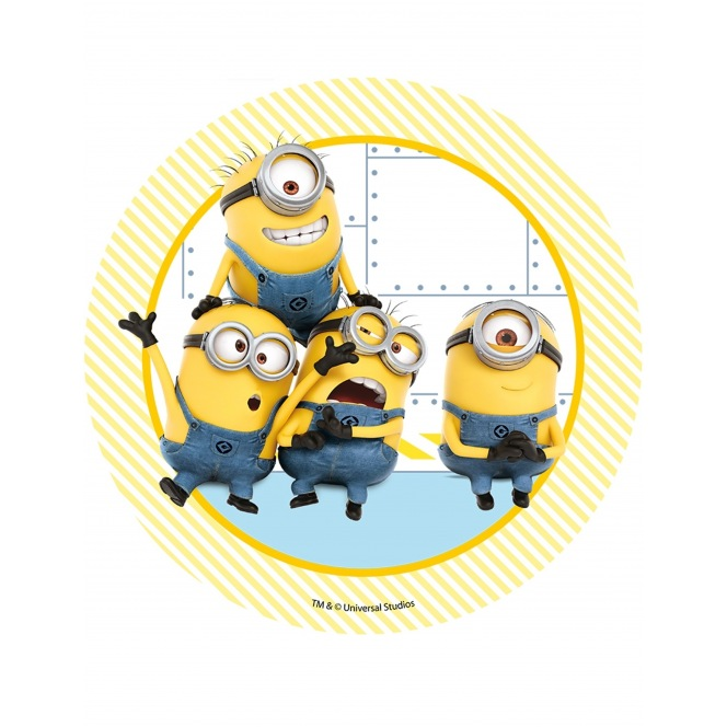 Wafer disc Minion Despicable Me - Minions