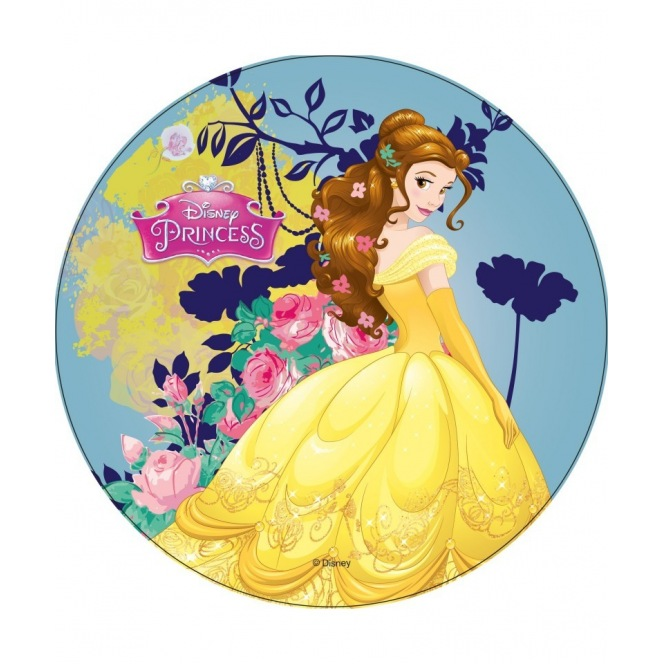 Wafer disk Disney princess - Belle - 20cm