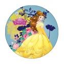 Wafer disk Disney princess - Belle - 20cm