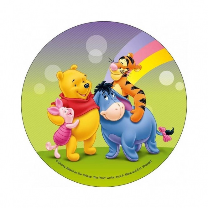 Wafer disc Winnie The Pooh 20cm - and his friends