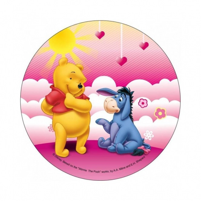 Wafer disc Winnie The Pooh 20cm - with eeyore