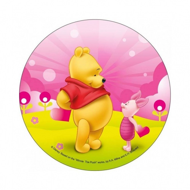 Wafer disc Winnie The Pooh with Piglet
