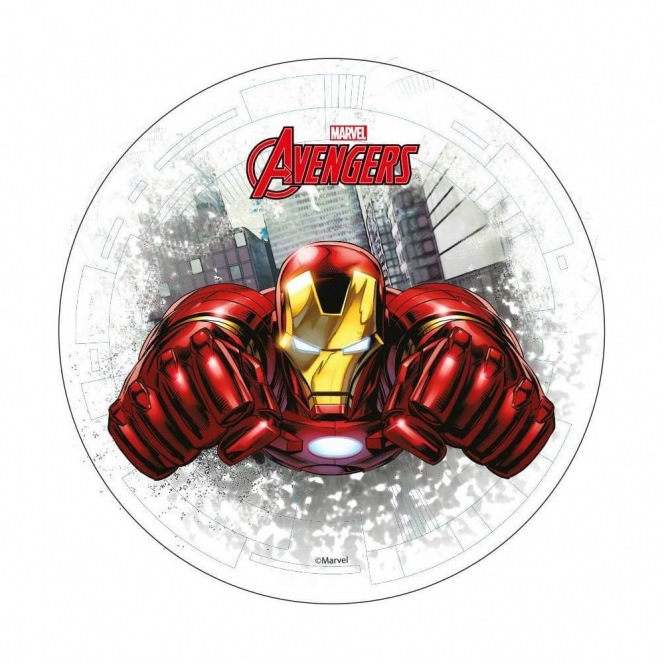 Wafer disc Avengers Iron Man