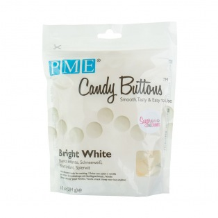 Candy Button - Bright White - PME - 283g