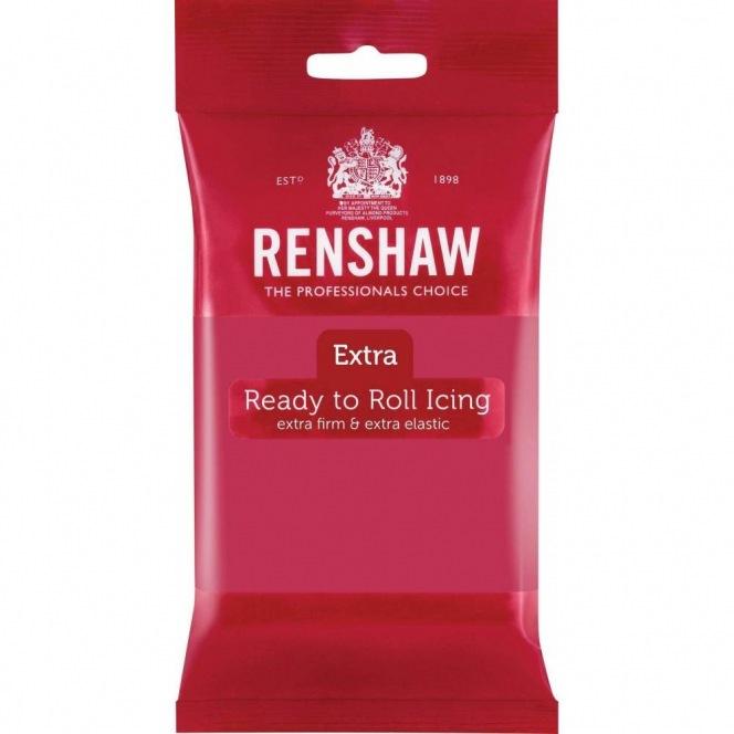 Renshaw Rolled Fondant Extra 250g - Fuschia Pink
