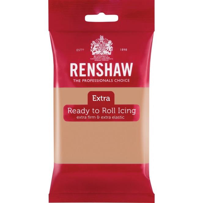 Renshaw Rolled Fondant Extra 250g - Skin Tone