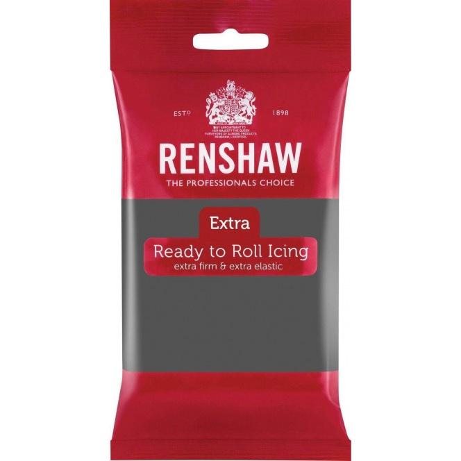 Renshaw Rolled Fondant Extra 250g - Grey