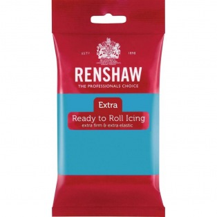 Renshaw Rolled Fondant Extra 250g - Turquoise