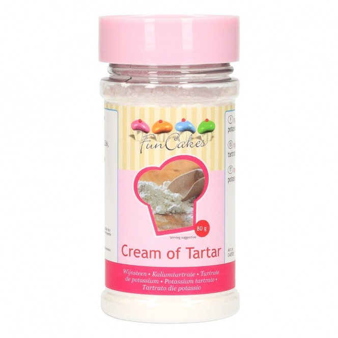 FunCakes Cream of Tartar 80g