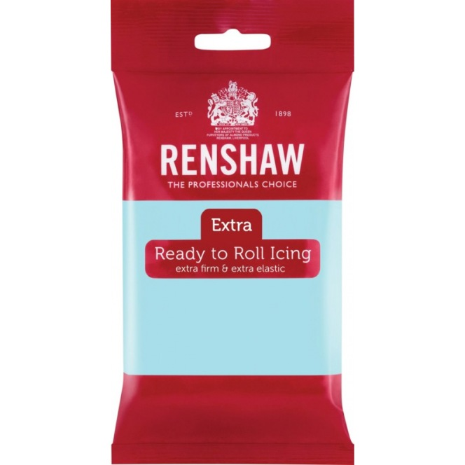 Renshaw Rolled Fondant Extra 250g - Duck Egg Blue