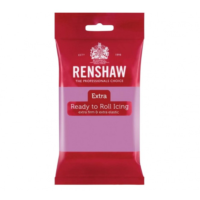 Renshaw Rolled Fondant Extra 250g -  Lilac
