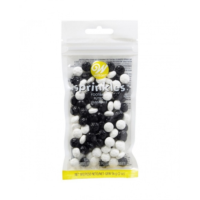 Wilton Football Sprinkles - 56gr
