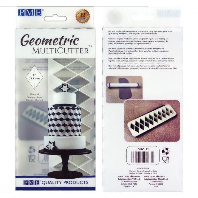 Geometric MultiCutter - Diamonds - PME