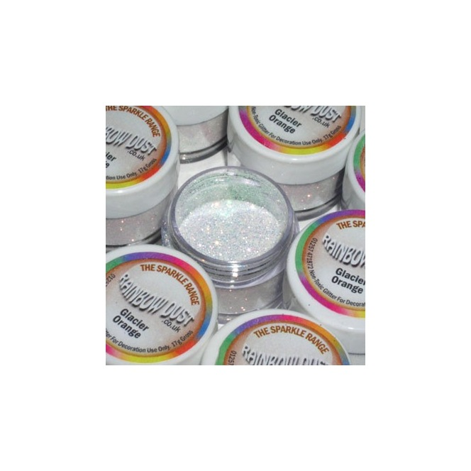 Decorative Glitter Glacier Orange Rainbow Dust 5g