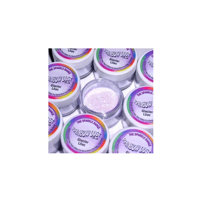 Decorative Glitter Glacier Lilac Rainbow Dust 5g