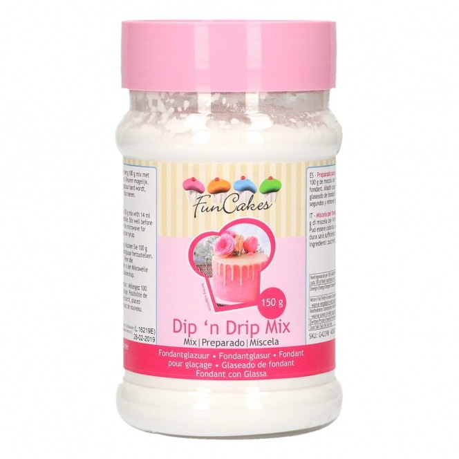 FunCakes Mix for Dip n Drip White - 150g