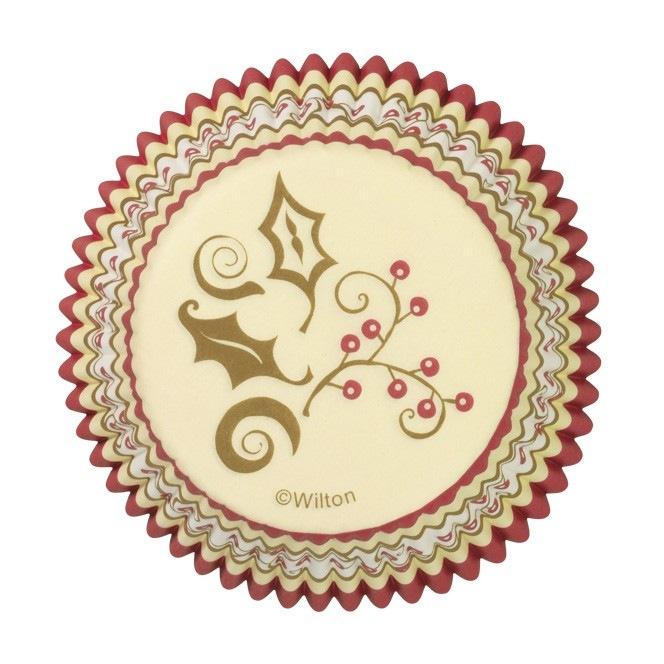 Caissettes à cupcake - Noël - 75 pces - Wilton