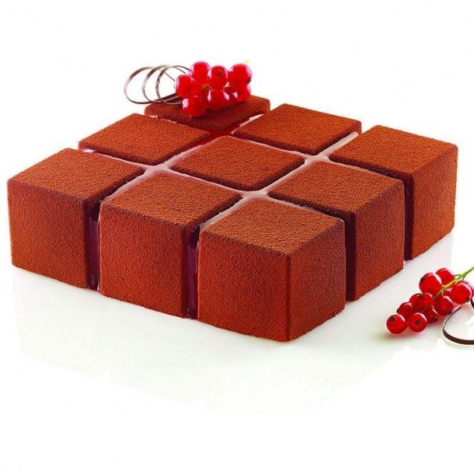 Silicone Mould Cubik - Silikomart Professional