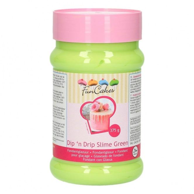 FunCakes Dipn Drip Slime Green - 375g