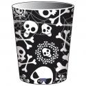 8 Halloween cardboard goblets - 250 ml