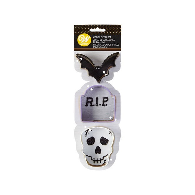 Cookie Cutter Halloween set/3 - Wilton