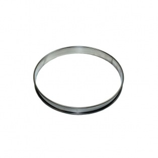 Tart Ring - Stainless Steel -  2cmx14cm