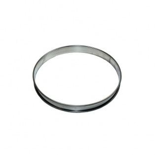 Tart Ring - Stainless Steel -  2cmx12cm