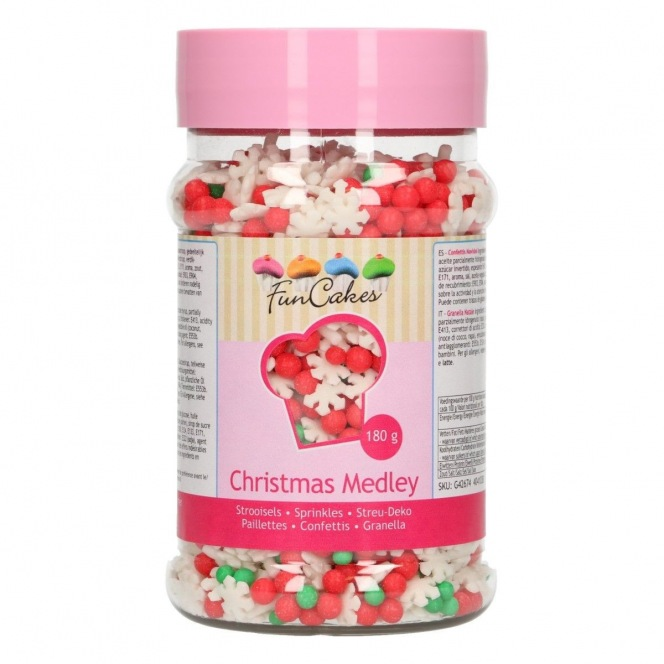 FunCakes Sprinkle Medley -Winter- 180g