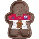 Wilton Gingerbread Boy Pan Brown