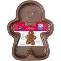 Wilton Gingerbread Boy Pan Brown