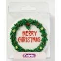 Merry Christmas Round Wreath - Culpitt