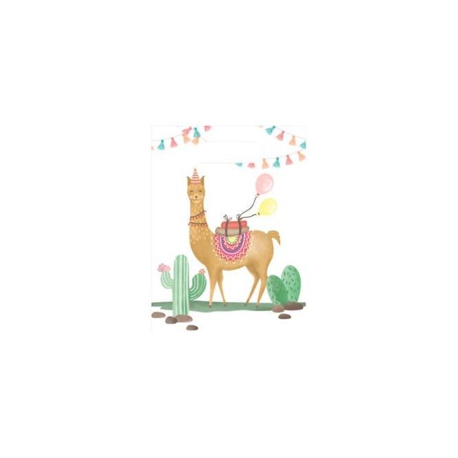 6 Llama Party Bags