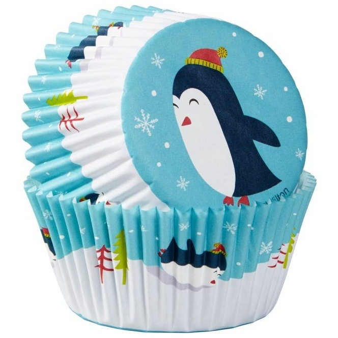 Wilton Baking Cups Penguin pk/75