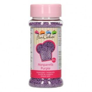 FunCakes Nonpareils - Purple - 80g