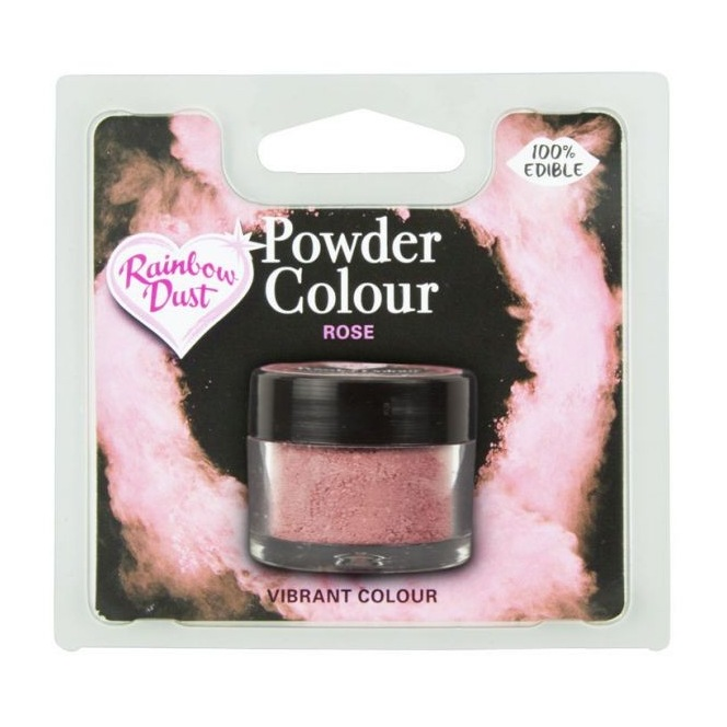 Coloring Powder Rose Rainbow Dust 4g