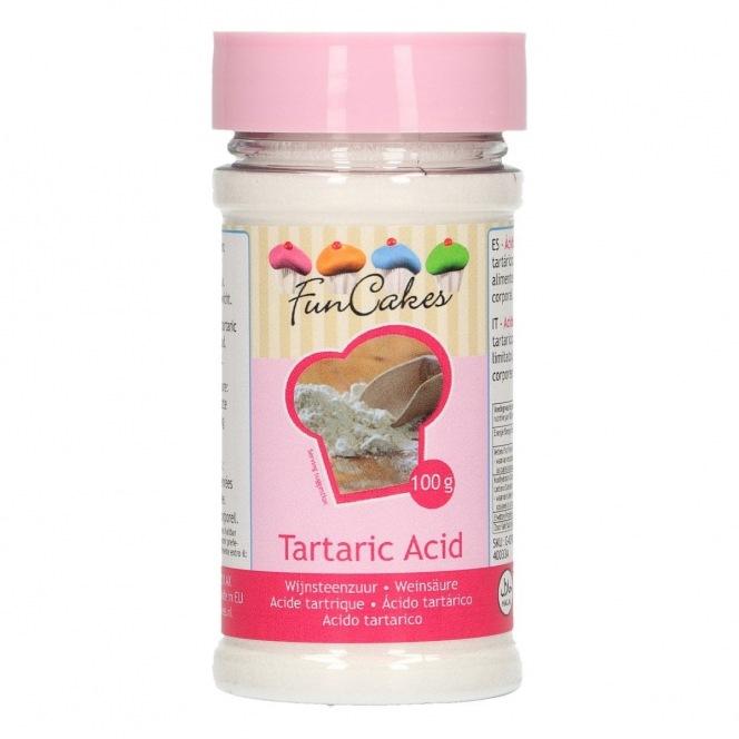 Tartaric Acid Funcakes - 100g