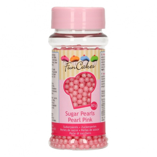 PME Large Sugar Pearls White