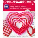 Cookie Cutter Nesting Heart Set/6
