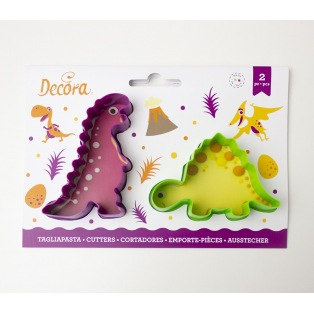 Dinosaur Cutters - 2 pcs - Decora