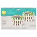 Picket Fence Cupcake Wraps - 24 pcs - Wilton
