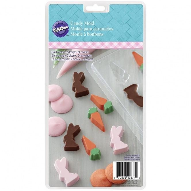 Candy Mold - Bunny & Carot - Wilton