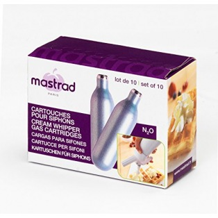 Cream Whipper gas cartridges - Mastrad